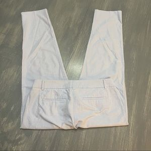 J. Crew Baby Blue Ankle Pants 4